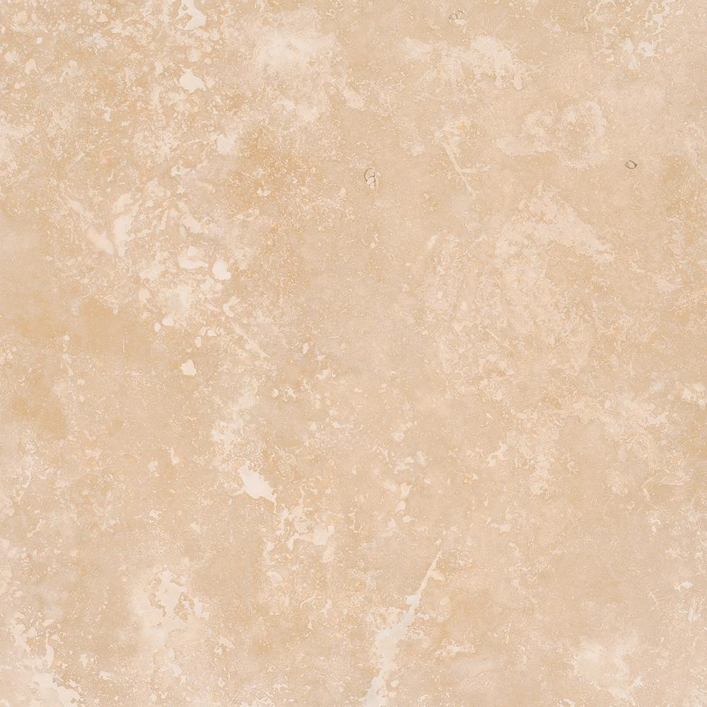 Ms International Diego 18 In X 18 In Honed Travertine