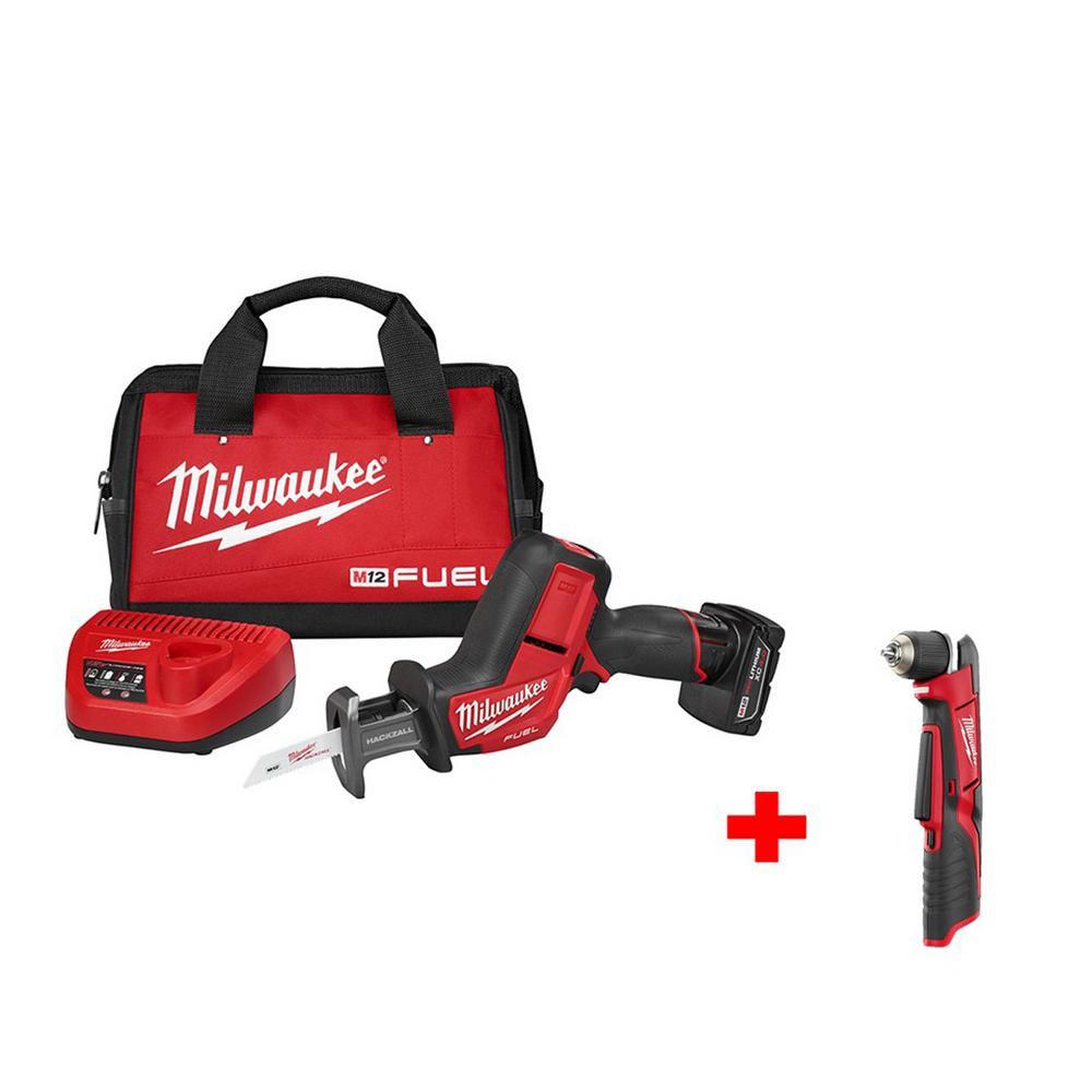 M12 FUEL 12-Volt Cordless HACKZALL Saw Kit with Free M12 3/8