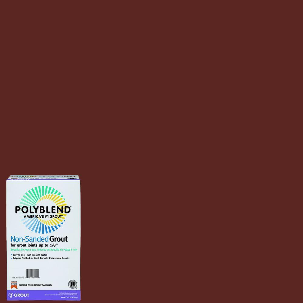 Polyblend #50 Nutmeg 10 lb. Non-Sanded Grout