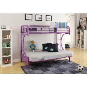 Eclipse Twin Over Full Metal Kids Bunk Bed · Acme Furniture ...
