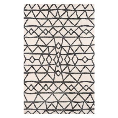 Niles Natural Cream 6 ft. x 9 ft. Area Rug