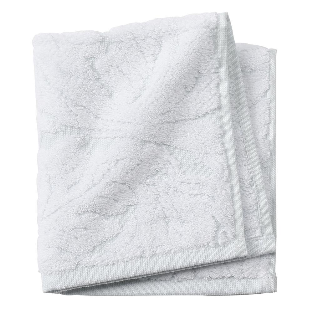 Faro 1-Piece Face Towel in Clearwater Blue