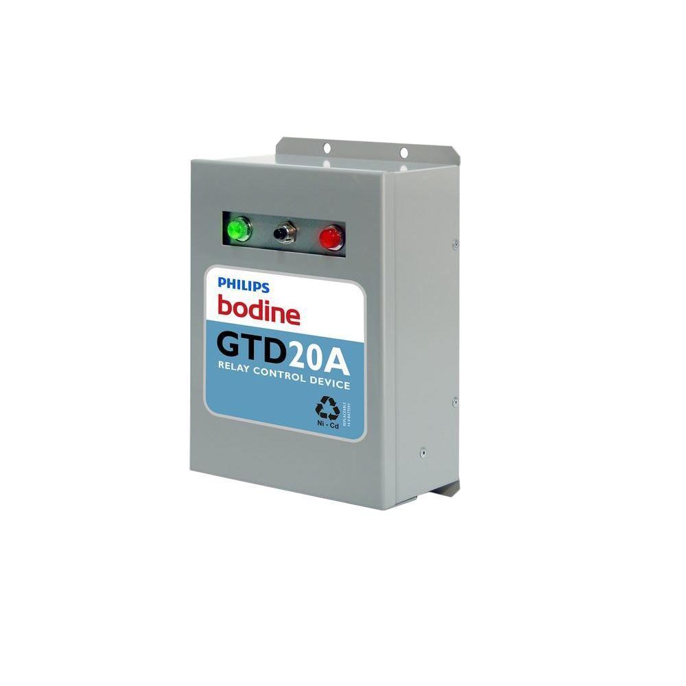 120-277-Volt Fluorescent 20-Amp Generator Transfer Device