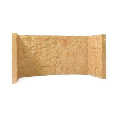66 in. x 26 in. x 36 in. Tan Cascade Composite Window Well