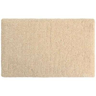 Rachel Lurex 20 in. x 34 in. Bath Rug, Beige