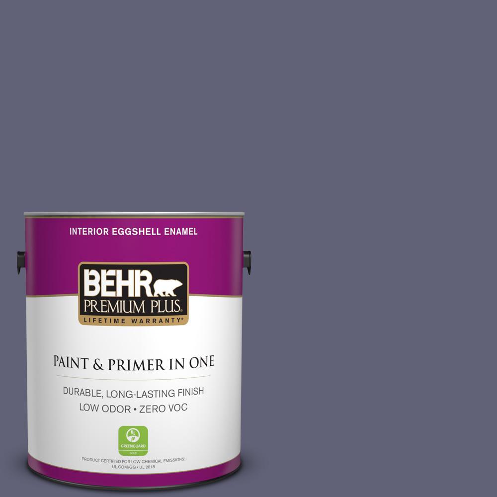 1-gal. #620F-6 Purple Orchid Zero VOC Eggshell Enamel Interior Paint