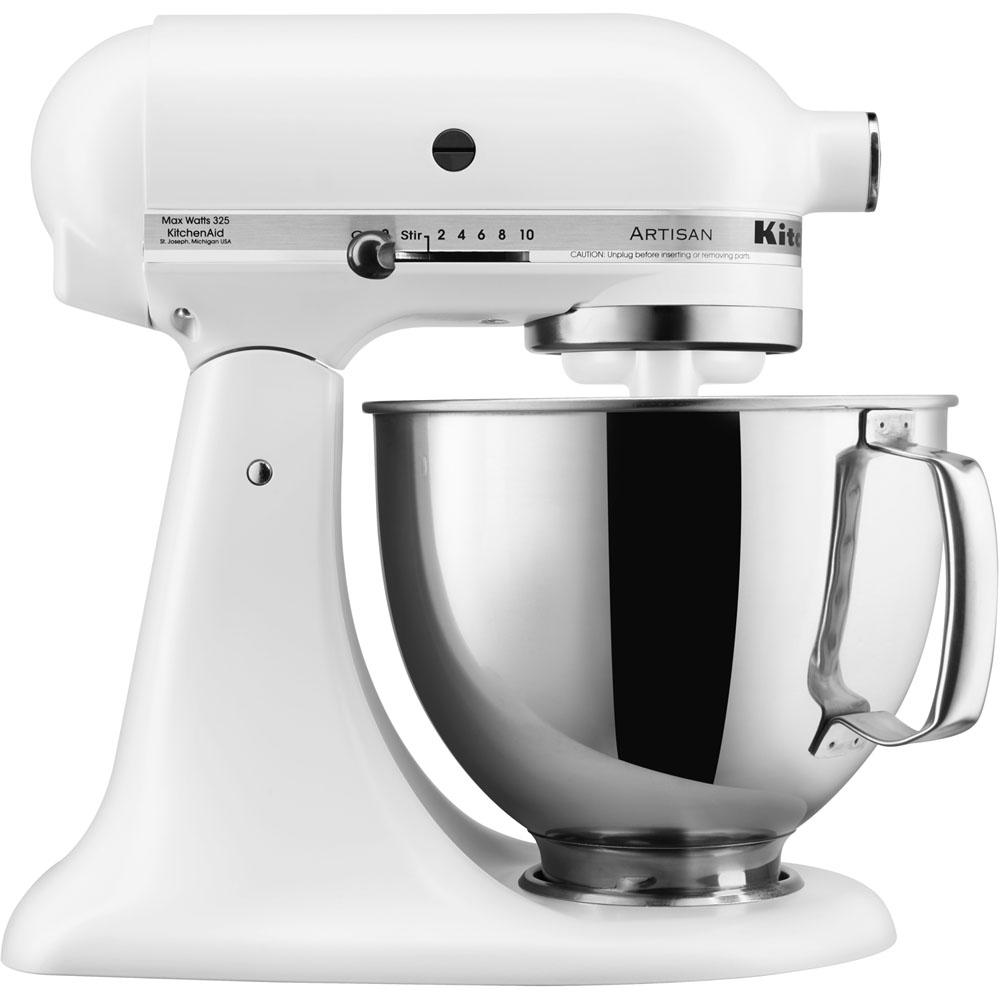Kitchenaid Series 5 Qt Tilt Back Head Stand Mixer In Matte White