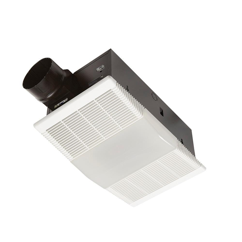 Broan Nutone 80 Cfm Ceiling Bathroom, Bathroom Fan Light Heater