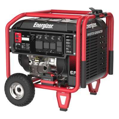 7,500-Watt Gas Powered Inverter Generator with EFI