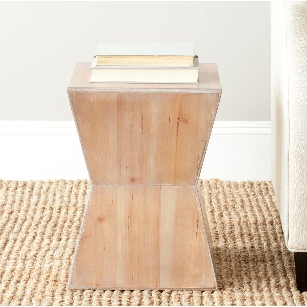 Safavieh Lotem Red Maple End Table