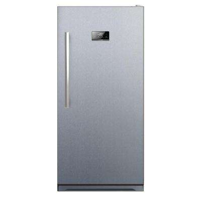 13.8 cu. ft. Freestanding Frost Free Upright Freezer, Stainless Steel Finish
