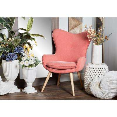 Wood - Fabric - Accent Chairs - Chairs - The Home Depot