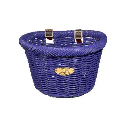 Cruiser Adult D-Shape Basket in Purple