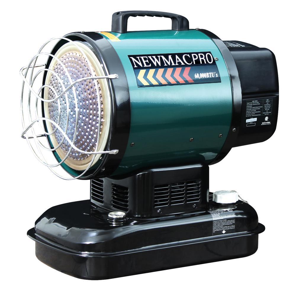 55,000 BTU Radiant Kerosene Heater with Thermostat