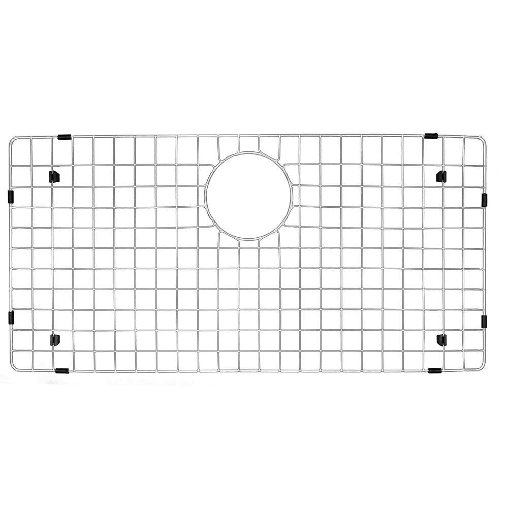 Karran 27-1/2 in. x 13-1/2 in. Stainless Steel Bottom Grid