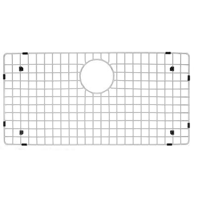 27-1/2 in. x 13-1/2 in. Stainless Steel Bottom Grid