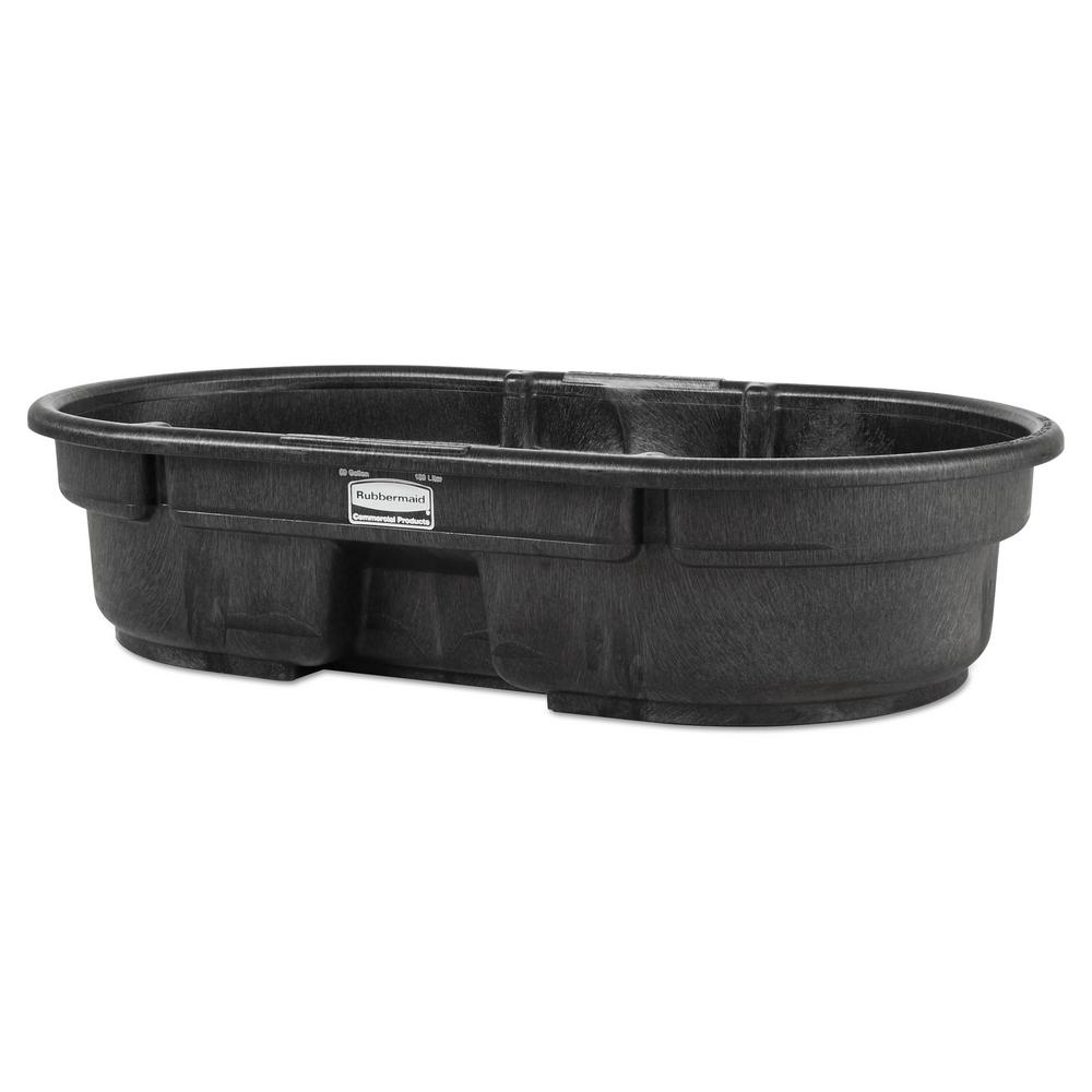 Rubbermaid Commercial Products 50 Gal Stock Tank