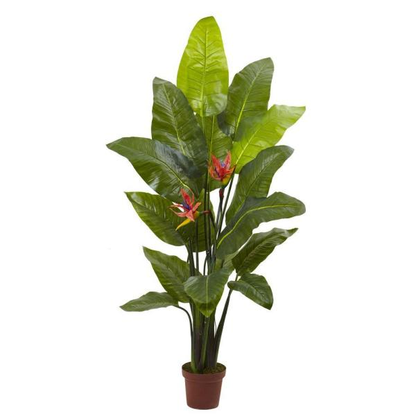 Real Touch Bird Of Paradise Plant 6576