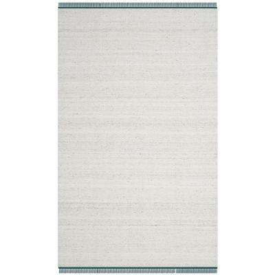 Kilim Ivory/Gray 5 ft. x 8 ft. Area Rug