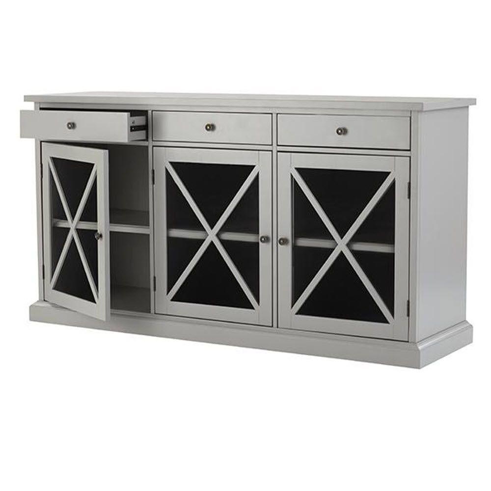 Home Decorators Collection Hampton Grey Buffet Sk17912ar2 G The