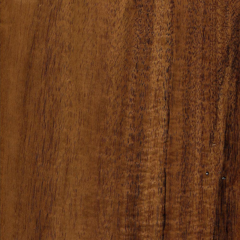 null Take Home Sample - Hand Scraped Natural Acacia Click Lock Hardwood Flooring - 5 in. x 7 in.