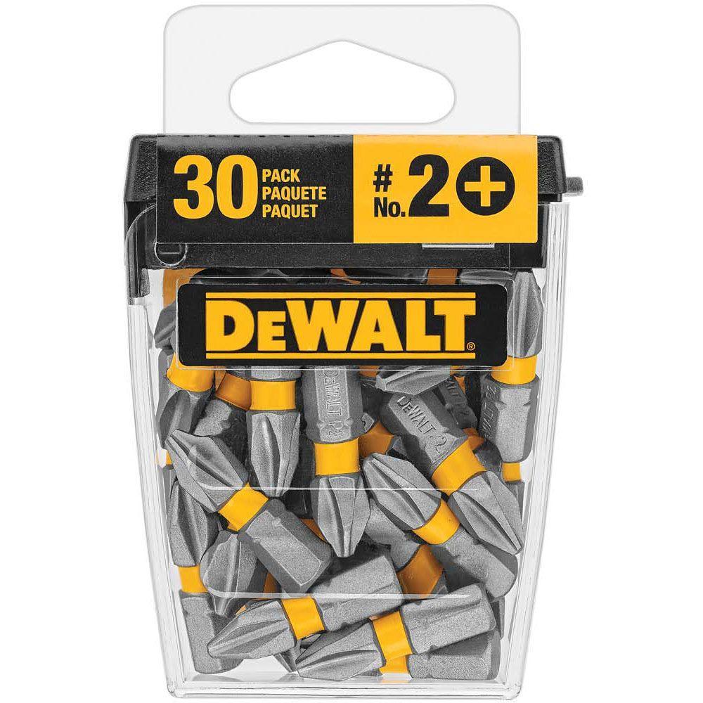 DEWALT 1 in. Phillips #2 Bit Tip (30-Piece)