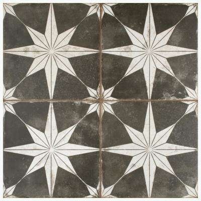 Kings Star Night 17-5/8 in. x 17-5/8 in. Ceramic Floor and Wall