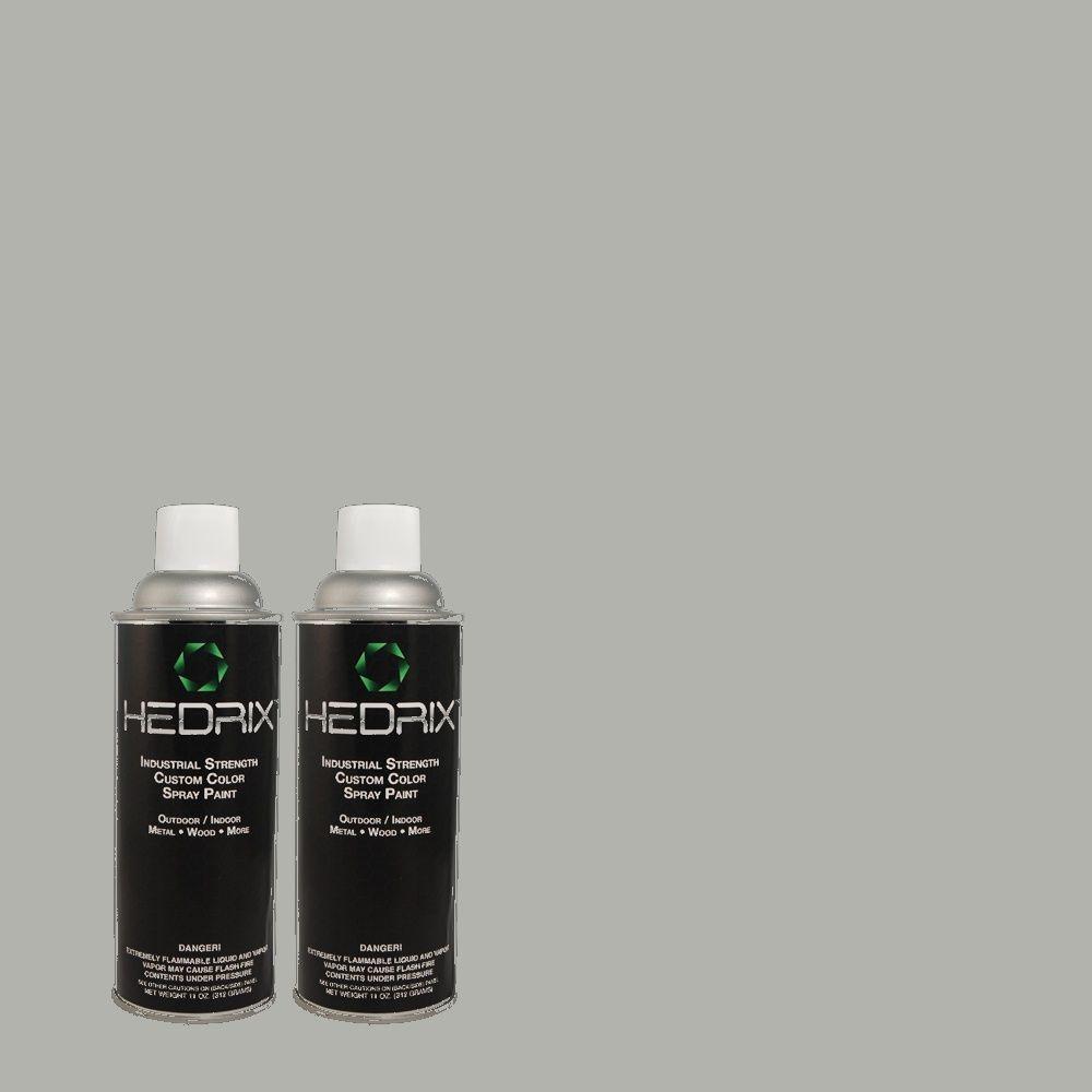 Hedrix 11 oz. Match of PEC-1 Minuteman Flat Custom Spray Paint (2-Pack)