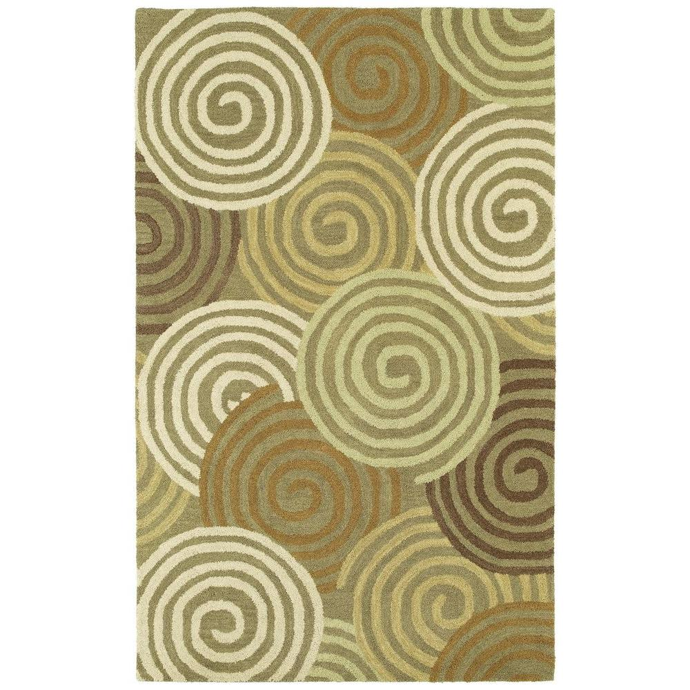 Kaleen Casual Chakra Brown 5 ft. x 7 ft. 6 in. Area Rug