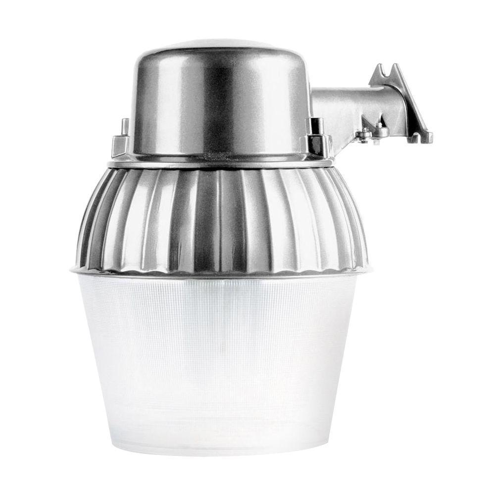 200-Watt Metallic Universal Bulb Outdoor Dusk to Dawn Area Light with 10 in. Acrylic Lens