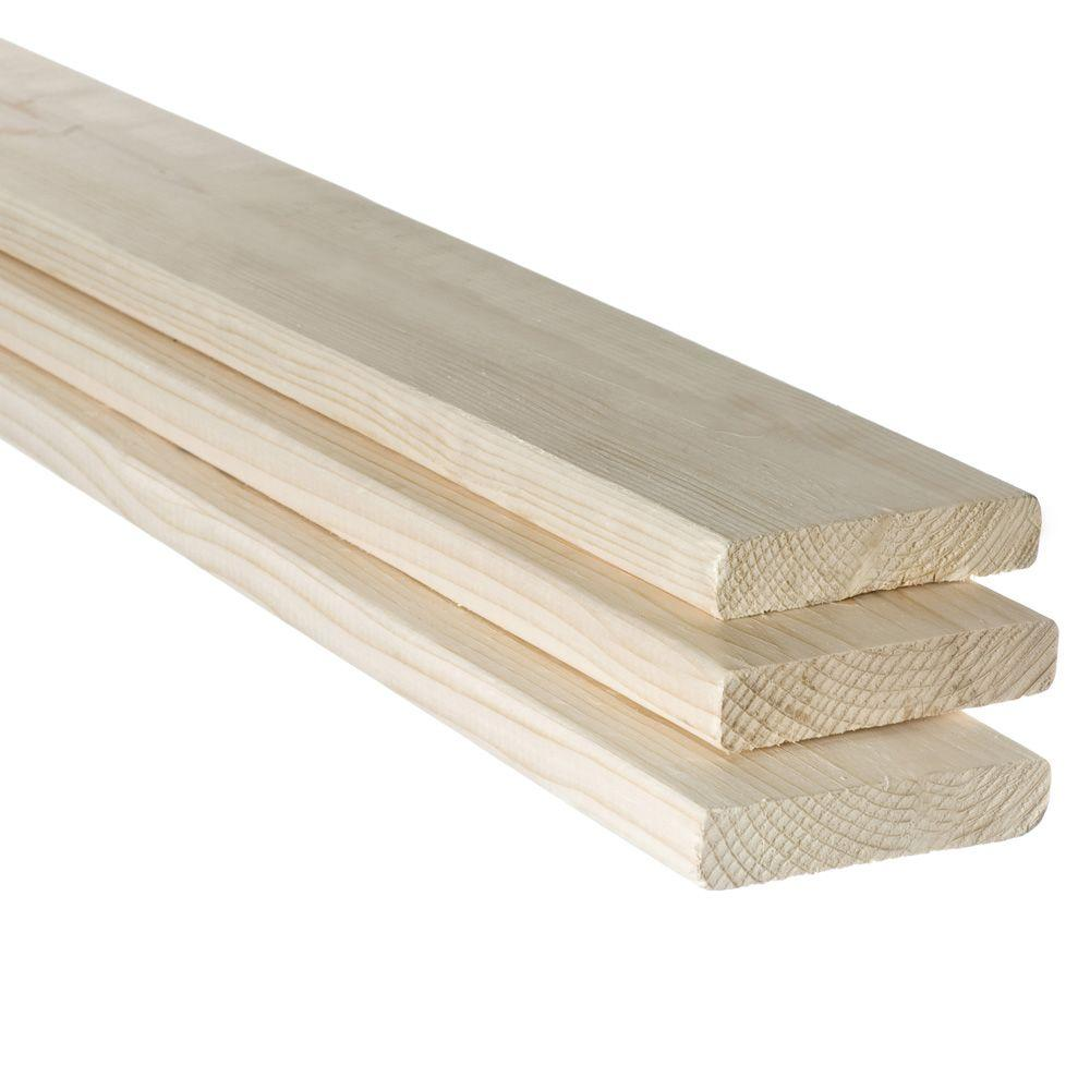 Barrette 1 in. x 4 in. x 8 ft. Furring Strip Board Lumber