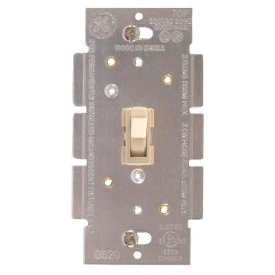 Toggle On/Off Dimmer Switch - Ivory