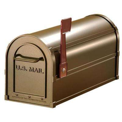4800 Series Post-Mount Antique Rural Mailbox
