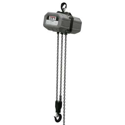 1-Ton Capacity 10 ft. Lift Electric Chain Hoist 1-Phase 115/230-Volt 1SS-1C-10