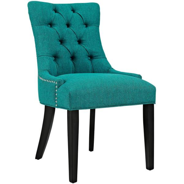 Regent Teal Fabric Dining Chair