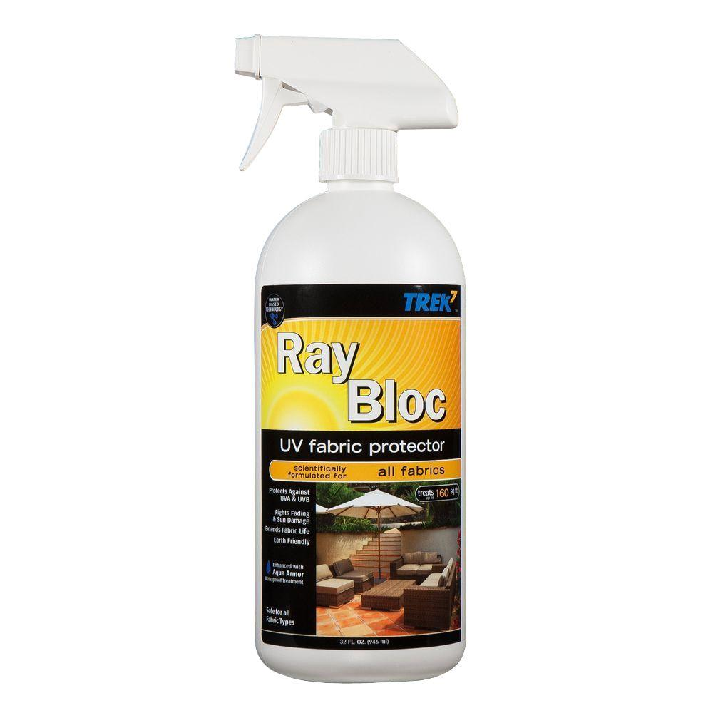 trek7 32 oz ray bloc uv fabric protector spray rbuv32 the home depot. Black Bedroom Furniture Sets. Home Design Ideas
