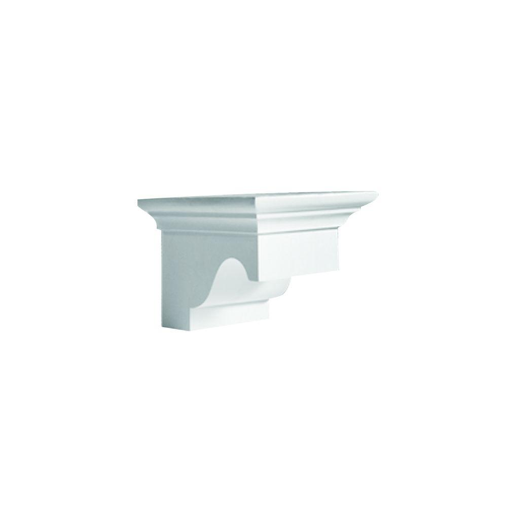 Fypon 4 5 16 in x 5 in x 7 1 4 in polyurethane dentil for Fypon dentil molding