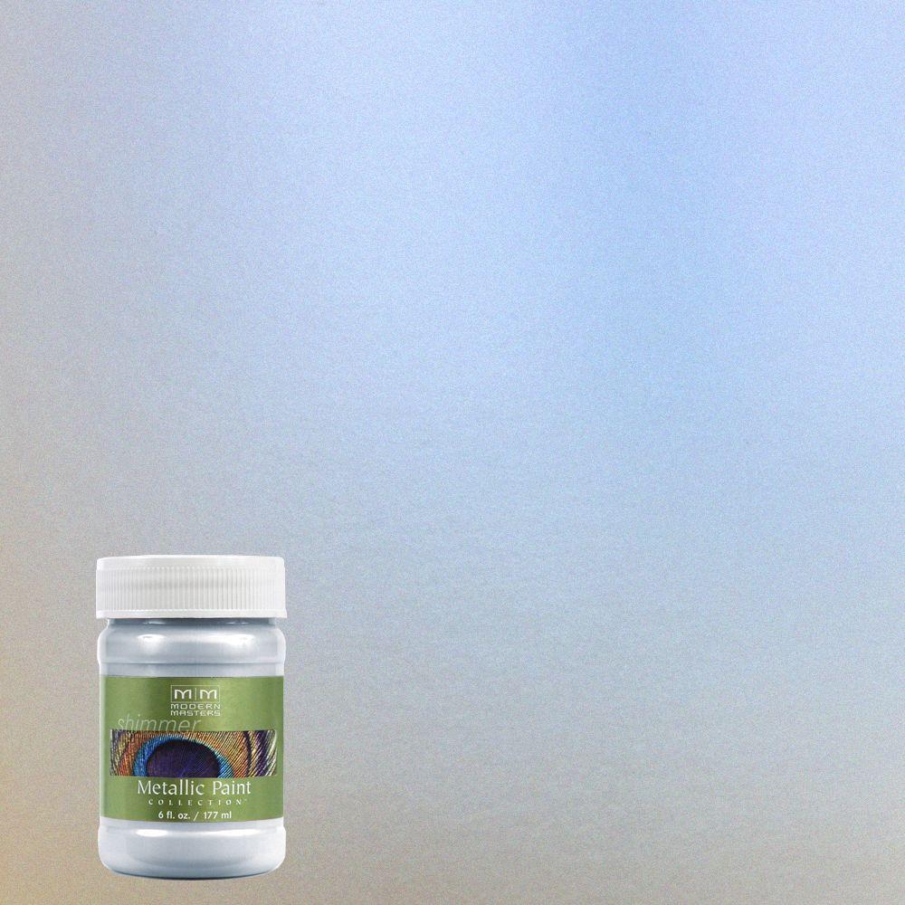 6 oz. Flash Blue Metallic Interior/Exterior Paint