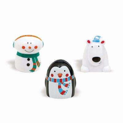 Winter Christmas Finger Puppets (12-Count 3-Pack)