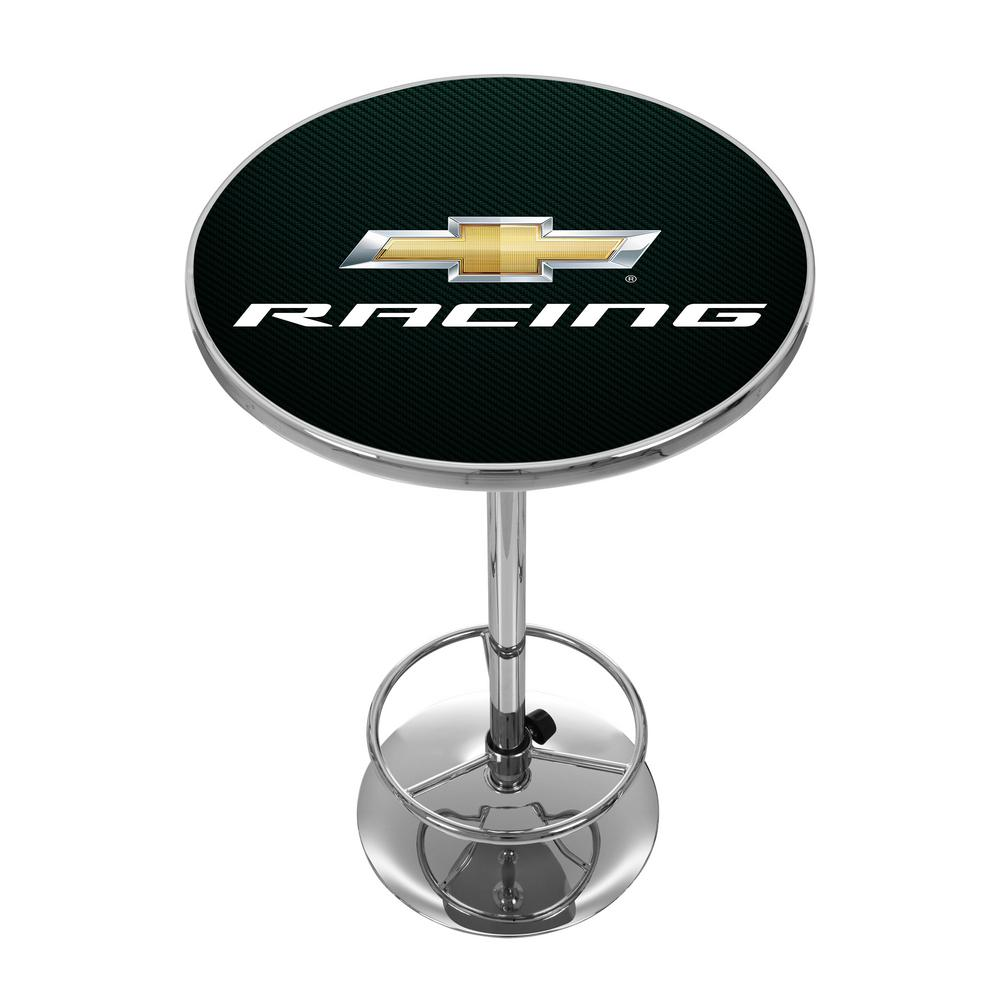 Chevrolet Chevy Racing Chrome Pub/Bar Table