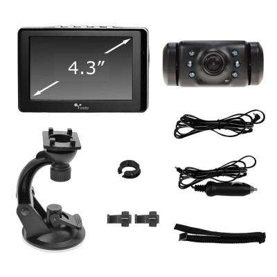 Digital Wireless Backup Camera with 4.3 display