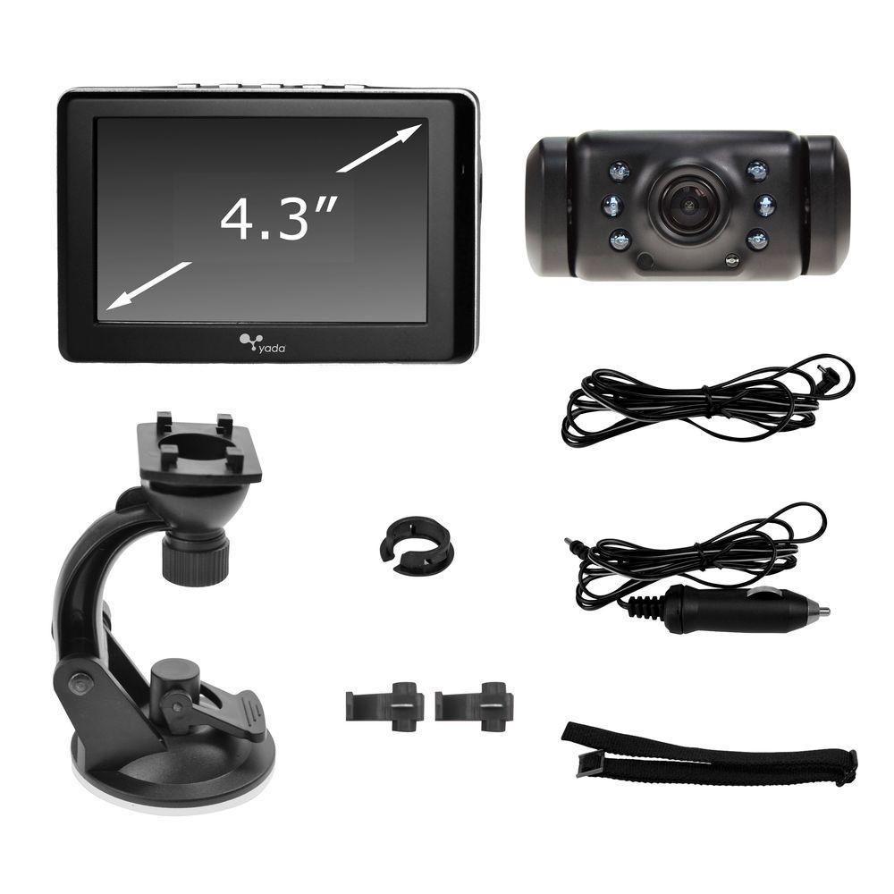 Digital Wireless Backup Camera with 4.3 display