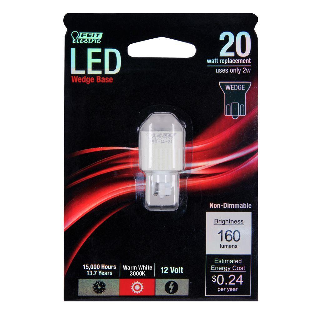 T5 Low Voltage Landscape Light LED conversion 9 Warm White led/'s per bulb 20