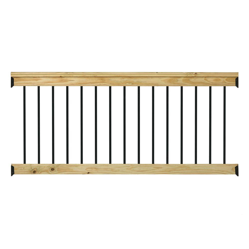 Wood - Deck & Porch Railings - Decking - The Home Depot