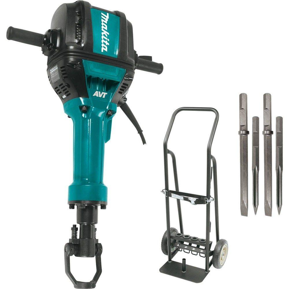 Makita 70 lb. 1-1/8 in. Hex Advanced AVT Breaker Hammer
