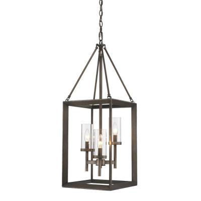 Smyth Collection 3-Light Gunmetal Bronze Pendant