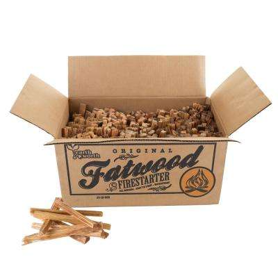 25 lb. Fatwood Firestarter Kindling Sticks