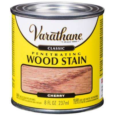 8 oz. Cherry Classic Interior Wood Stain (4-Pack)
