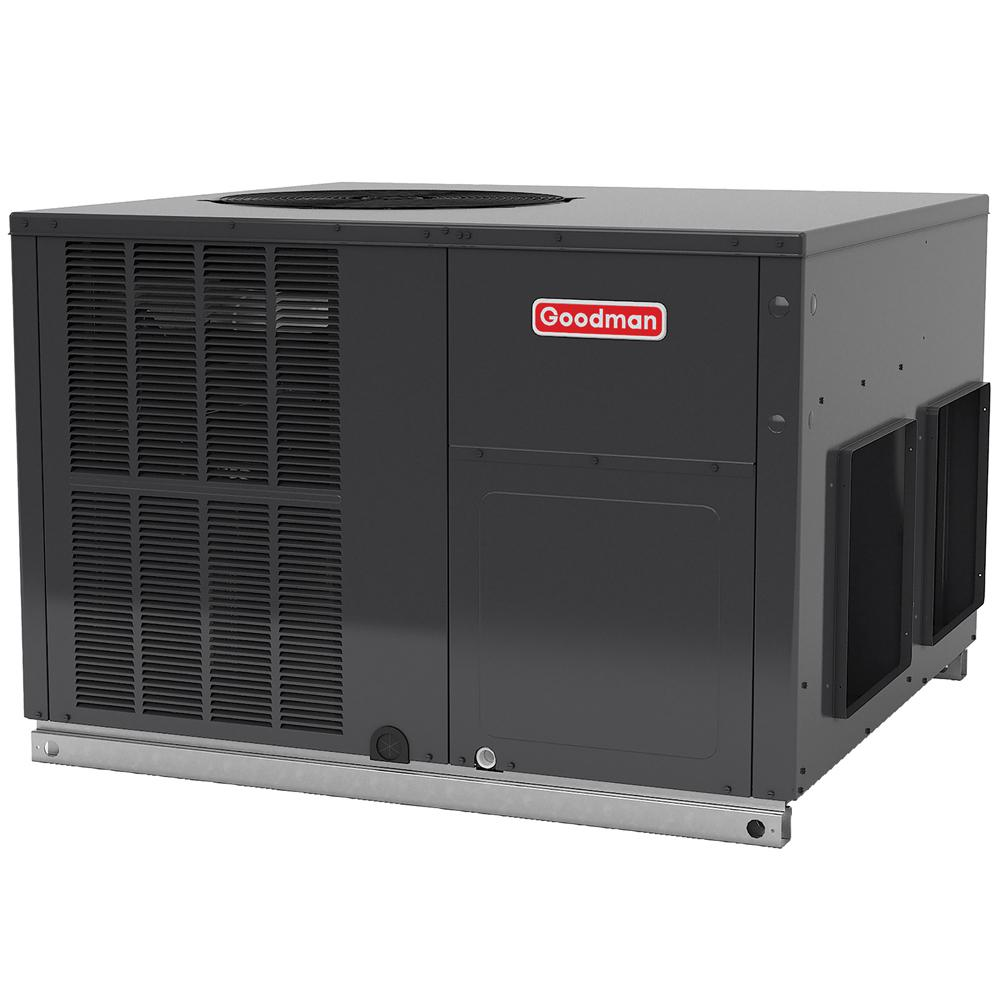 GOODMAN 3 Ton 16 SEER R 410A Multi Position Package Air Conditioner Goodman  Whole House Air Conditioners Gph1636m41 64 1000 304996164 100 [ Goodman Heat  ...