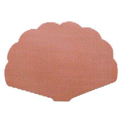 Orchid Fishnet Shell Placemat (Set of 12)